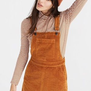 Madewell corduroy jumpsuit dress